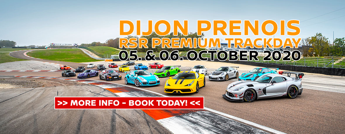 Dijon Prenois – RSR Premium Trackday 05. & 06. October 2020