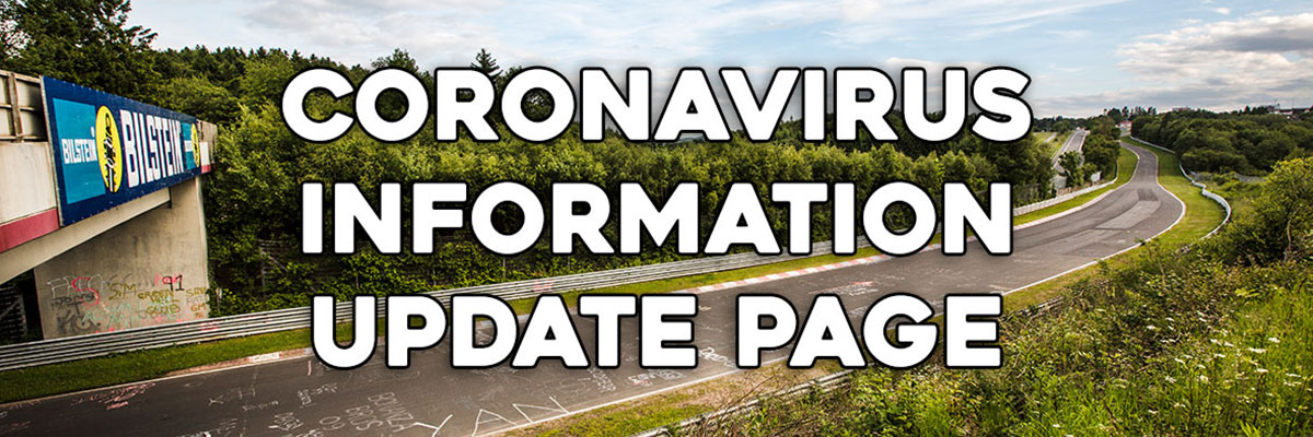 Coronavirus Covid19 update – RSRNurburg