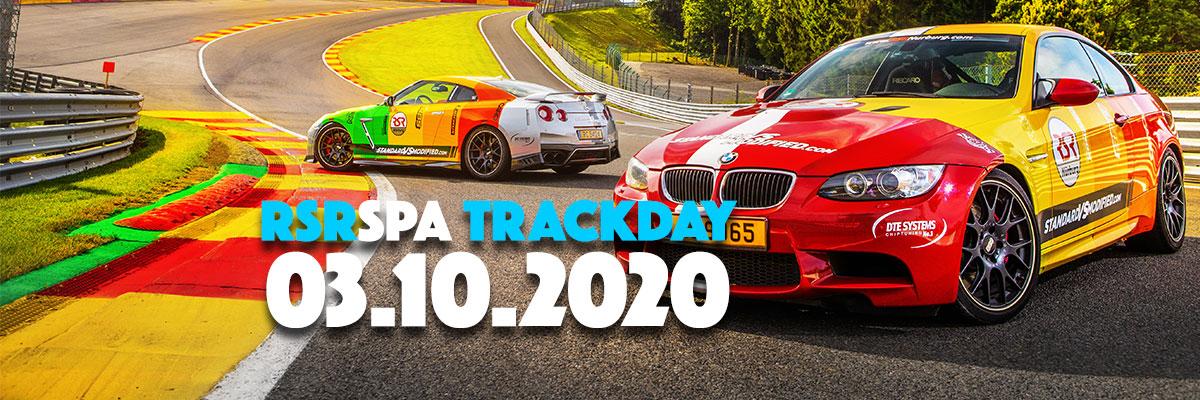 03 de octubre de 2020 – ¡Nueva fecha del trackday!