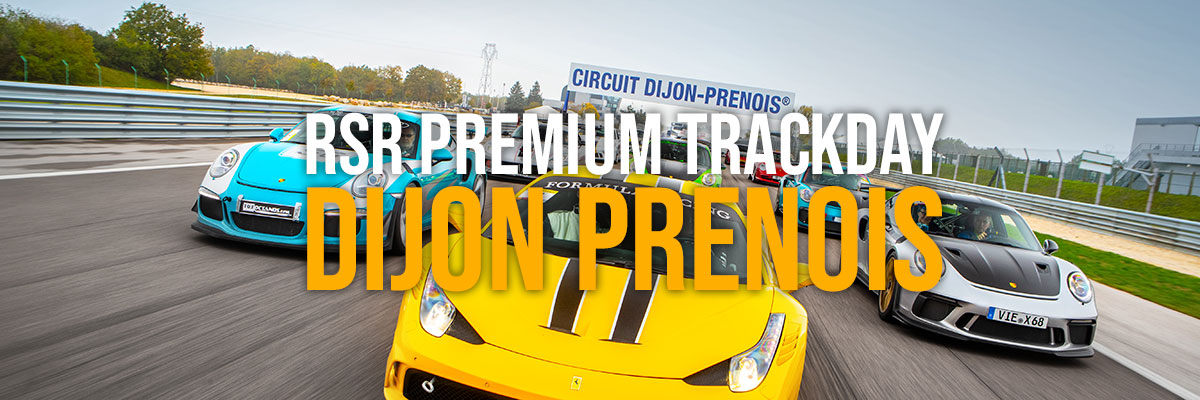 Dijon Prenois – RSR Premium Trackday 11 et 12 octobre 2021